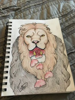 The Rose Lion by ErinSoup