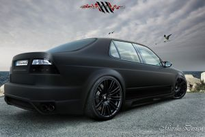 Saab 9-5 Sedan - Black Matte by MurilloDesign