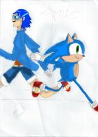 Sonic!! by Sparkzlight