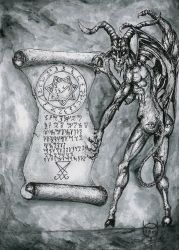 Pact of Satan by LuciforusArt