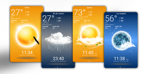 Beautiful Weather App  by HipHopium