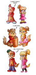Evolution of Alvin's and Brittany's Relationship by Loveless-Nights