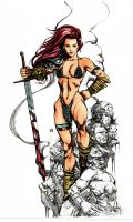 Keu Cha Red Sonja Colors by prizzy726