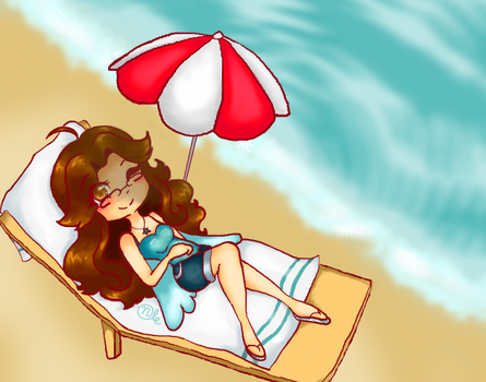 A Beach Spibbles by TheOnlyChiliPepper