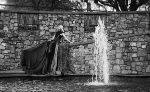 By the fountain by SheenaWoodPhoto