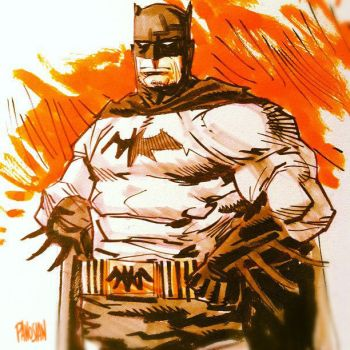 Dark Knight by urban-barbarian