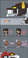 Voltron comic #2 by PinkOwl99