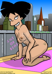 Amy Wong Nude Cityscape by StarDragon77