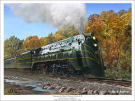 Chicago and NW Class E-4 by markkarvon