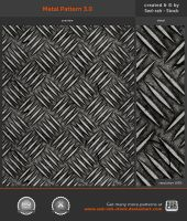 Metal Pattern 3.0 by Sed-rah-Stock