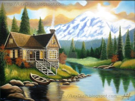 The Chalet - Painting Vol.3 by LexDizih