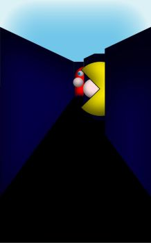 Pac-Man 3D by Corporal-Punishment