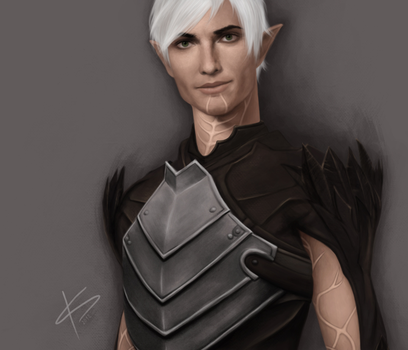 Fenris /Dragon Age II by Acrisa