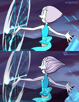 Steven Universe Fanart | Pearl Screenshot Redraw by Thalateya