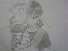 Gaara of the sand. by Daphne-Swiftx13