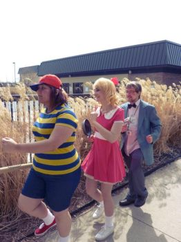 Earthbound: Off to Adventure by anarchymarie