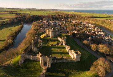 Warkworth Castle by scotto