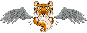 Winged Tiger by terozi