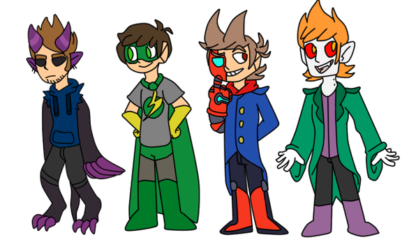 the eddsworld tome au by courlersix