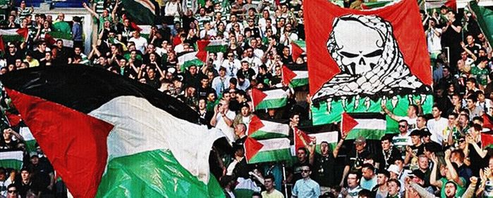 Celtic for Palestine by Quadraro