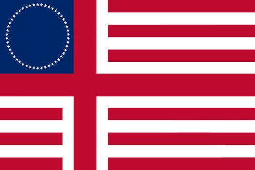 Nordic United States Flag by Alternateflags