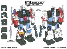 The Ark - War Within - Protectobots - Defensor by JP-V