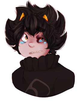 Poor Karkat :'( by SapphicTurquoise