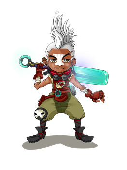Ekko by Awskitee