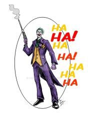The Joker by mrinal-rai