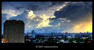 Crack in the Heavens HDR by mikeyorsolino