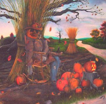 The Pumpkin Man by Tolkyes