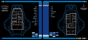 U.S.S. Allegiant   LCARS Interior View by Auctor-Lucan
