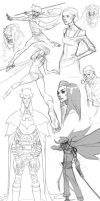 Sketch Dump 20140212 by jeffwamester