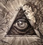 All seeing eye 04 by Stelf-2014