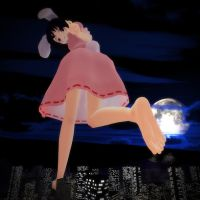Tewi and The Unlucky City by AndyThePocketPyro