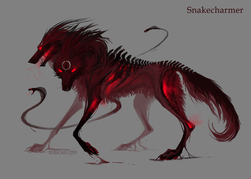 Snakecharmer by Alaiaorax