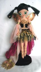 Felt Fairy Doll - front by impetere