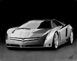 cadillac cien by Electricgod