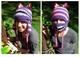 Cheshire Cat by TheCrochetDragon