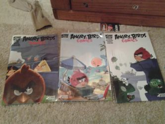 My angry birds comic collection by bluejay5678