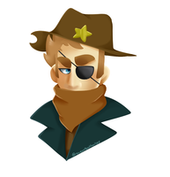 Sheriff Thompson by Ravenfeather788