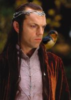 Elrond and His Daemon by LJ-Todd