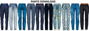 MMD Pants DL by UnluckyCandyFox