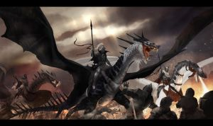 Army of Wings by Dezilon