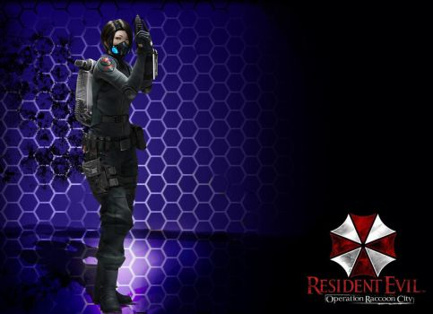 resident evil operation raccoon city- four eyes by foxguy823