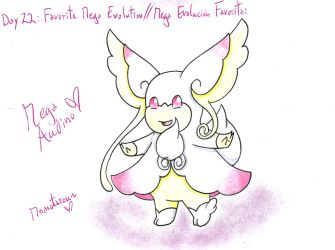 22 - My Favorite Mega Evolution by Hitomi-chan666