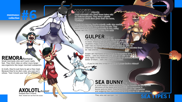 Monster Musume+: Sea Species I by Dragonith
