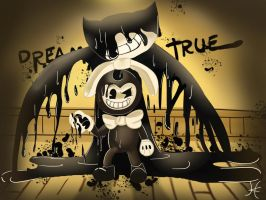 Bendy- Dreams Come True by albinoWolf58