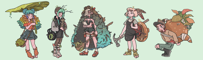 Forest Explorers 1/3 by tritn