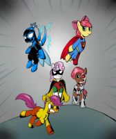 REQUEST: Filly Titans by fimoman
